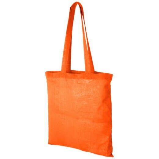 Shopper personalizzabile in cotone MADRAS - 3