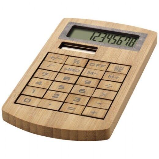 Calcolatrice in bambù EUGENE - 1