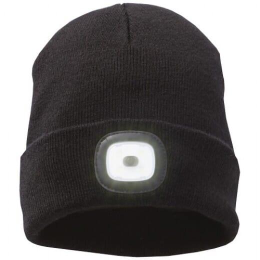 Mighty LED knit beanie Black - 1